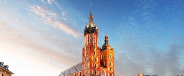 Noclegi w Krakowie z widokiem na rynek w centrum miasta